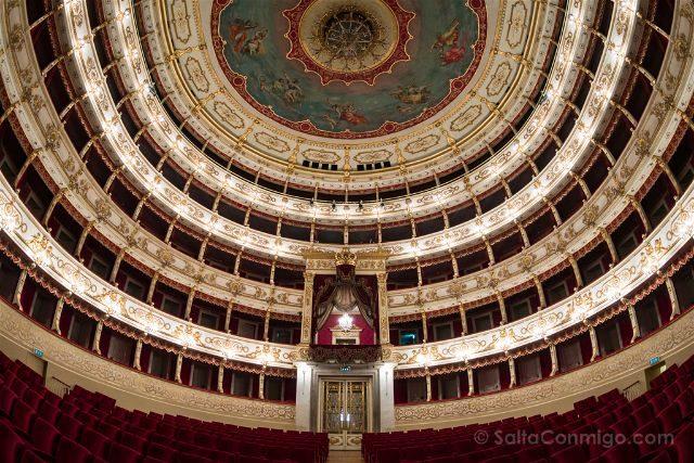 Italia Emilia Romagna Parma Teatro Regio