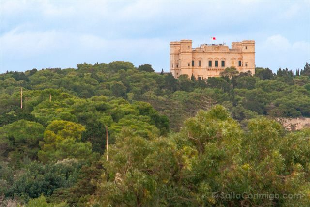 Malta Jardines Buskett Boschetto