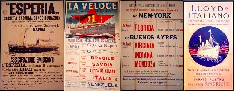 Nueva York Ellis Island Museo Inmigracion Carteles