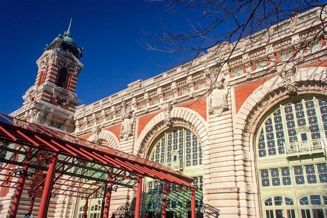 Nueva York Ellis Island Museo Inmigracion Entrada