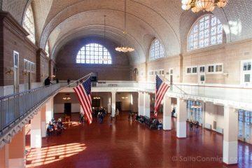 Nueva York Ellis Island Museo Inmigracion Sala Recepcion