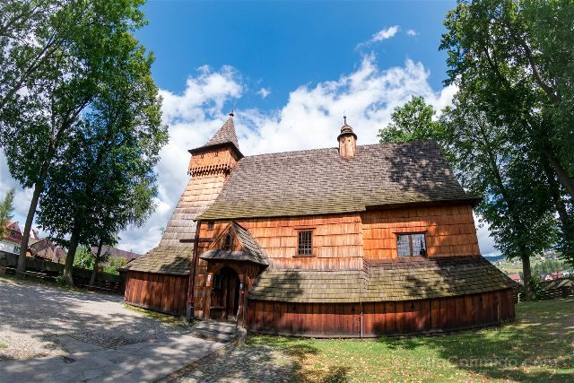 Polonia Malopolska Debno Arcangel San Miguel Ojo Pez
