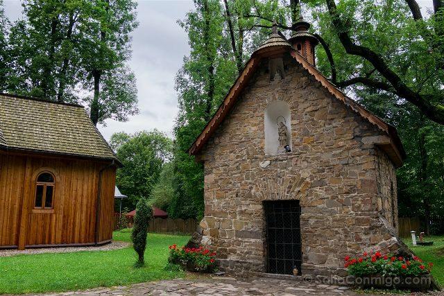 Polonia Malopolska Zakopane Capilla Gasienicow Exterior