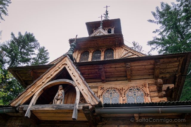 Polonia Malopolska Zakopane Sagrado Corazon Jaszczurowka Cristo