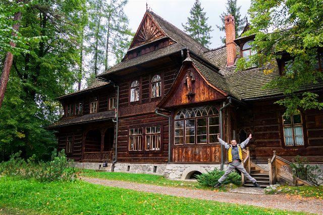 Polonia Malopolska Zakopane Vila Kolima Exterior Salto