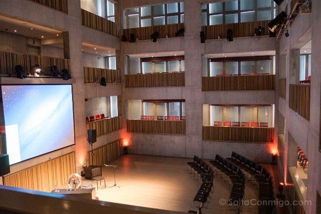 Belgica Flandes Brujas Concertgebouw Sala Menor