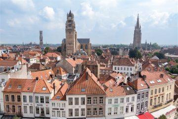 Belgica Flandes Brujas Concertgebouw Vista Terraza