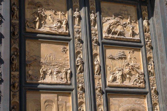 Catedral De Florencia Baptisterio Puerta Paraiso