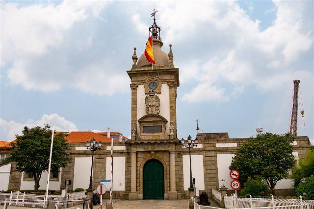 Galicia Ferrol Arsenal Industrial Puerta