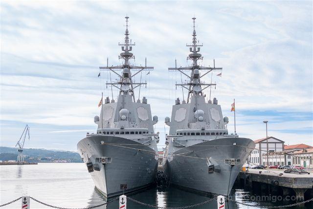 Galicia Ferrol Arsenal Militar Fragatas