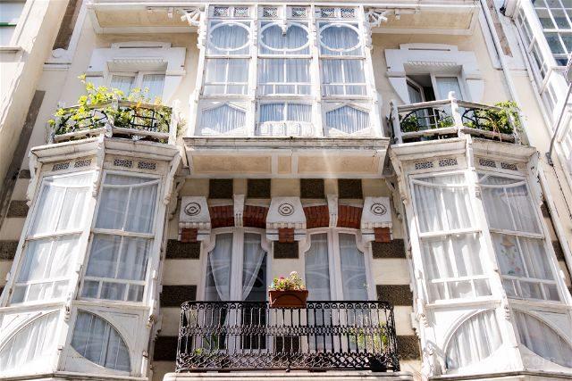 Galicia Ferrol Calles Casa Modernista