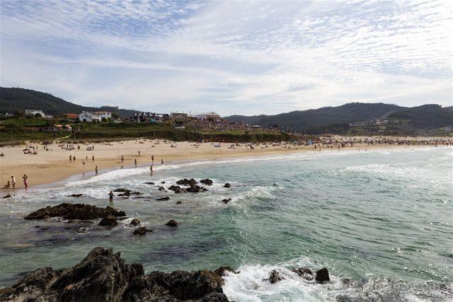 Galicia Ferrol Playa Pantin
