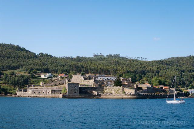 Galicia Ferrol Ria Castillo San Felipe