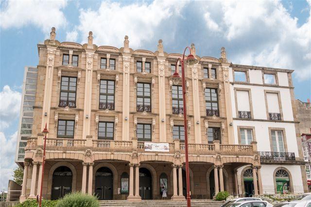 Galicia Ferrol Teatro Jofre Fachada