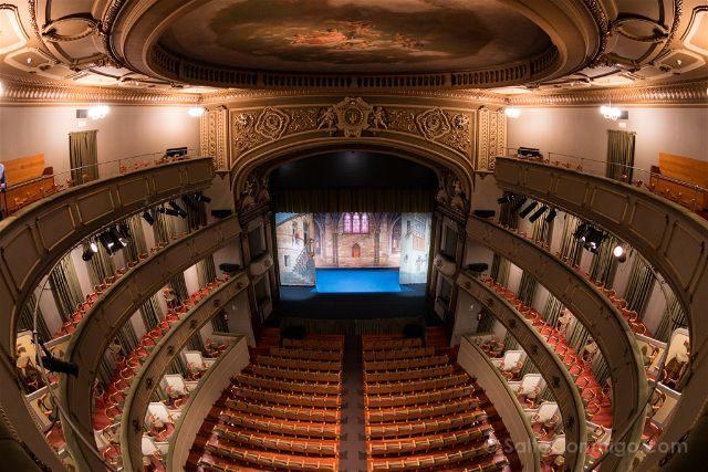 Galicia Ferrol Teatro Jofre Patio