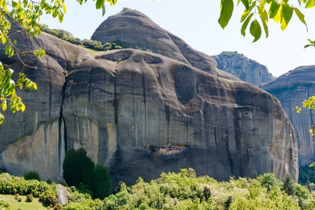 Grecia Meteora Turismo Activo Escalada Kastraki San Jorge Cueva