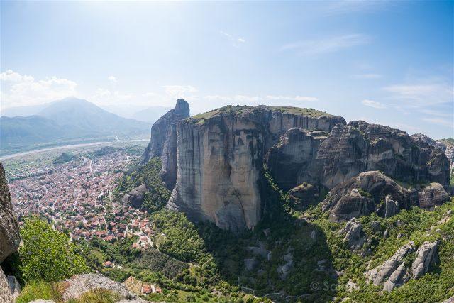 Turismo activo en meteora grecia del senderismo a la for Oficina de turismo de grecia