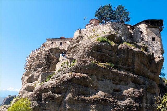 Grecia Meteora Turismo Activo Senderismo Monasterio Varlaam