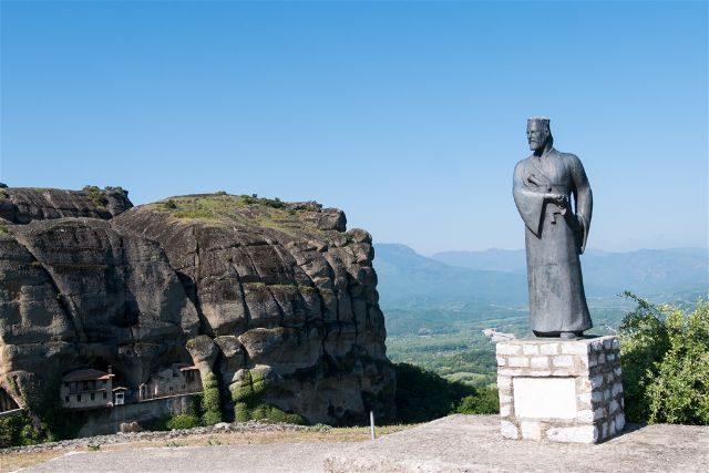 Grecia Meteora Turismo Activo Senderismo Monasterio Ypapanti Mirador