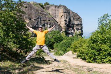 Grecia Meteora Turismo Activo Senderismo Salto