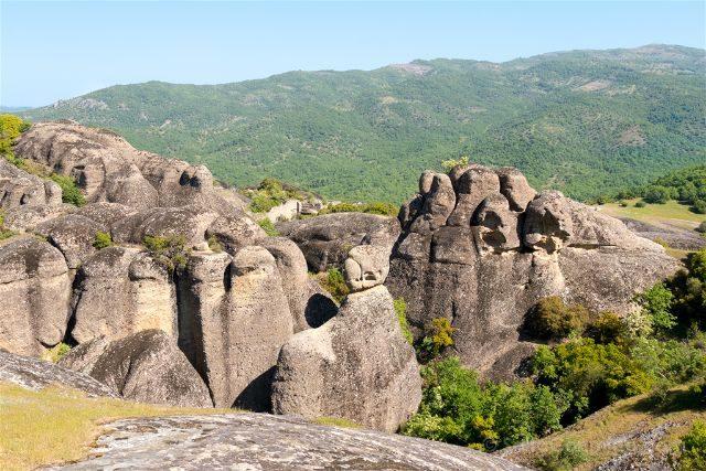 Grecia Meteora Turismo Activo Senderismo Vista