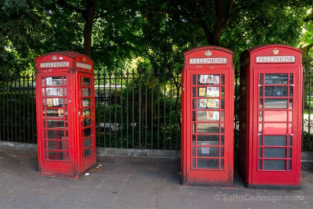 Inglaterra Londres Cabinas