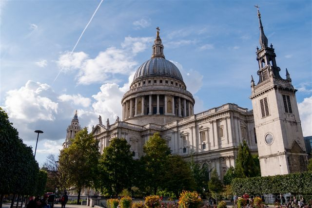Inglaterra Londres Catedral St Paul