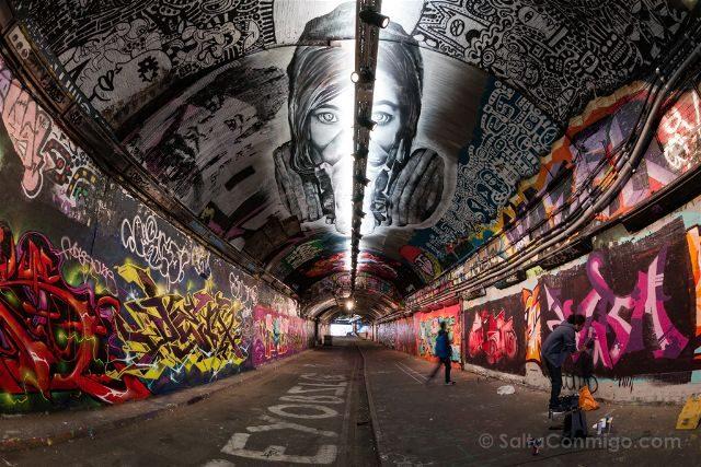 Inglaterra Londres Grafitis