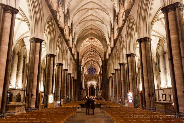 Inglaterra Salisbury Catedral Interior