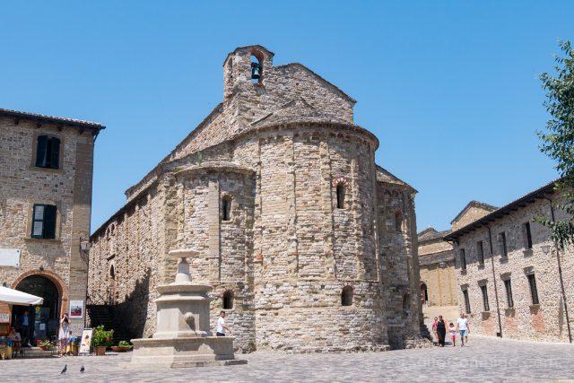 Italia Emilia Romagna San Leo Plaza