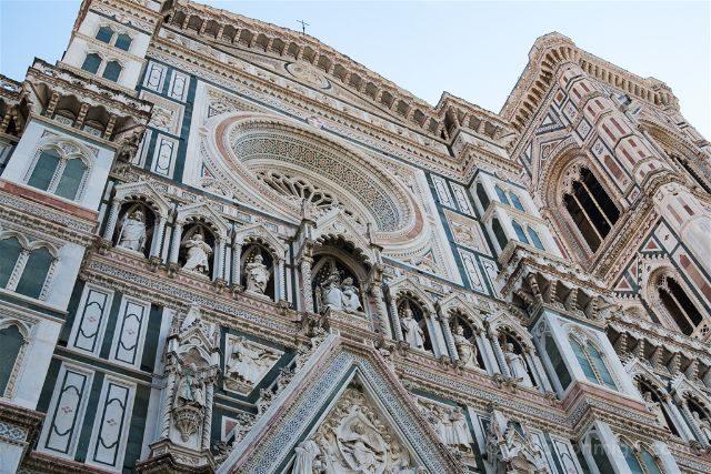Italia Florencia Duomo Fachada