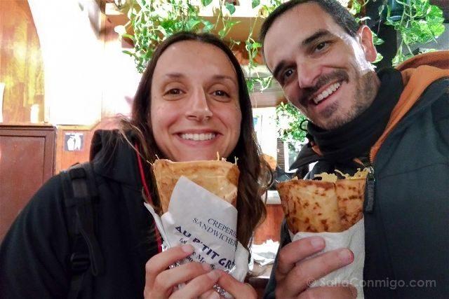 Paris Donde Comer Au P'tit Grec Crepes