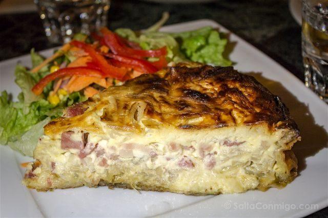 Paris Donde Comer Restaurante La Fourmi Ailee Chique Lorraine