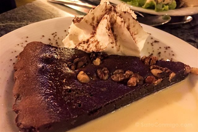 Paris Donde Comer Restaurante La Fourmi Ailee Tarta Chocolate