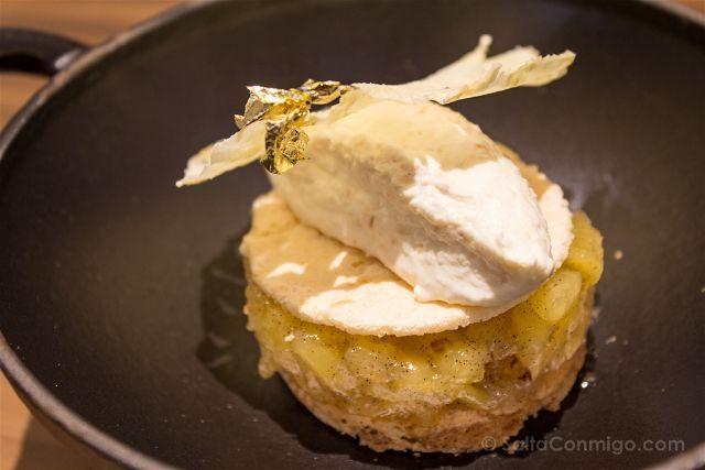 Paris Donde Comer Restaurante Les Cocottes Tarta Manzana