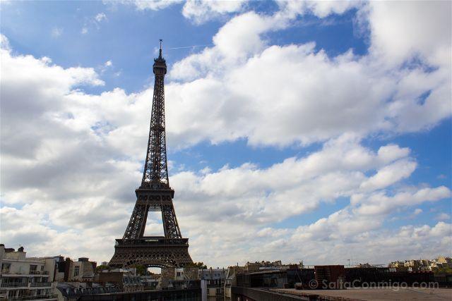 Paris Donde Comer Restaurante Les Ombres Torre Eiffel