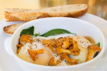 Paris Donde Comer Restaurante ORE Versalles Huevos Pochados