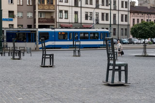 Polonia Cracovia Gueto Judio Plaza Heroes Gueto