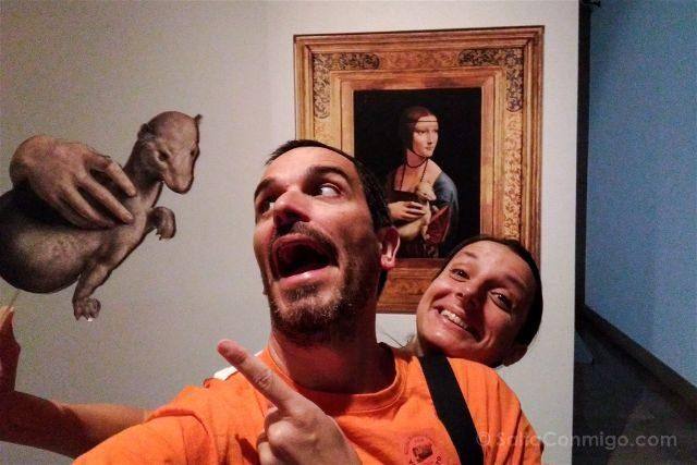 Que hacer en el centro de CracoviaMuseo Nacional Dama Armino Leonardo da Vinci Polonia