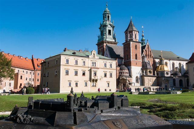 Polonia Cracovia Wawel Castillo Catedral