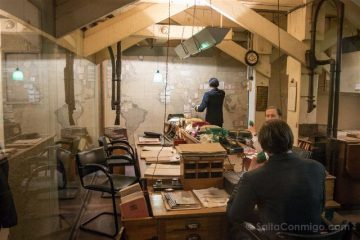 Reino Unido Inglaterra Londres Churchill War Rooms Sala Inteligencia