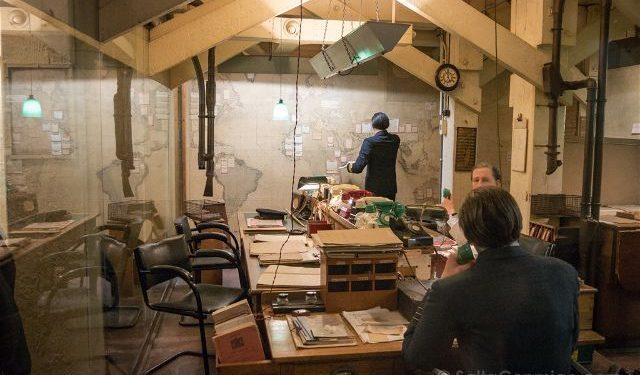 Reino Unido Inglaterra Londres Churchill War Rooms Sala Inteligencia