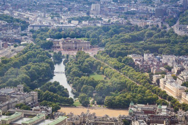 Reino Unido Inglaterra Londres Helicoptero Buckingham