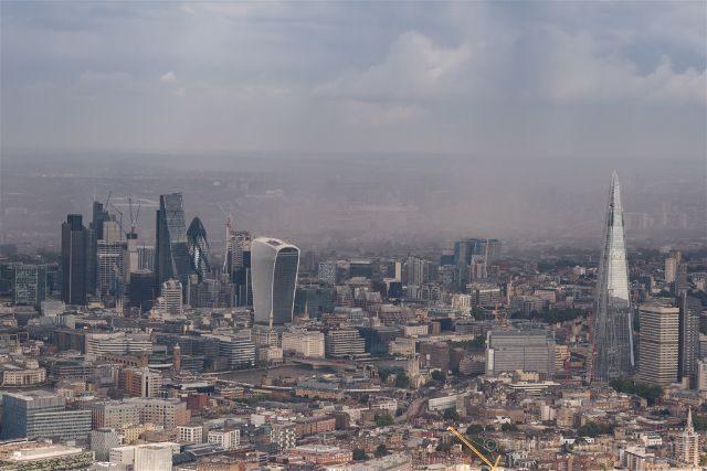 Reino Unido Inglaterra Londres Helicoptero City
