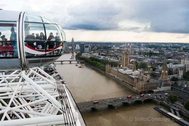 Reino Unido Inglaterra Londres London Eye Parlamento