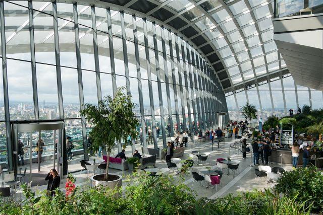 Reino Unido Inglaterra Londres Sky Garden Interior