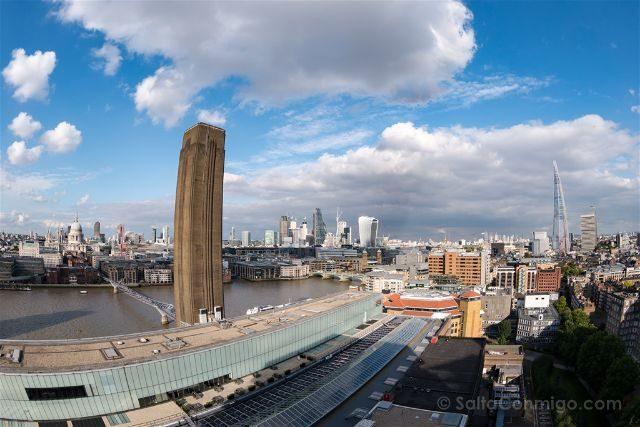 Reino Unido Inglaterra Londres Tate Modern City Ojo Pez