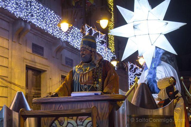 Alicante Alcoy Navidad Desfile Embajador Real