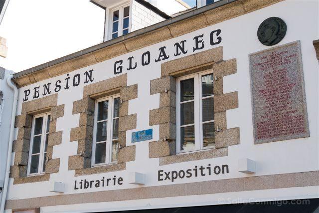 Francia Bretagne Pont-Aven Pension Gloanec