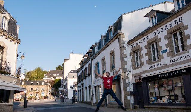 Francia Bretagne Pont Aven Salto